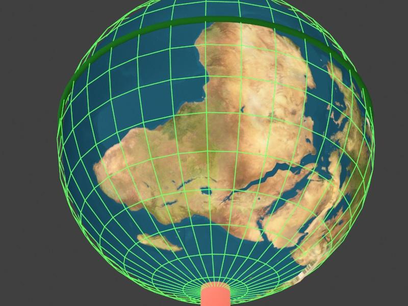 【安全区】今后的经纬度地图