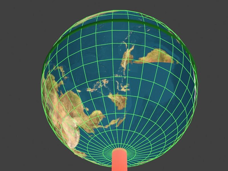 极移后——纬度/经度线 康斯坦丁,一位极移ning成员,提供了极移后的纬度/经度图像。_笑震叶飘_新浪博客