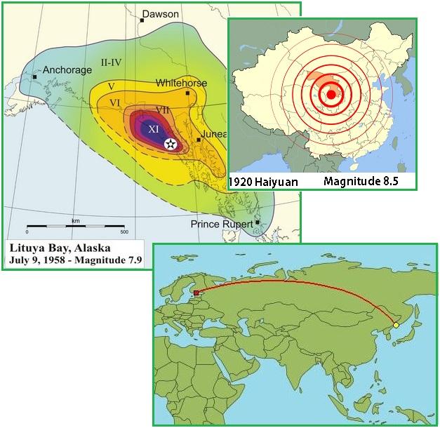 землетрясения создают