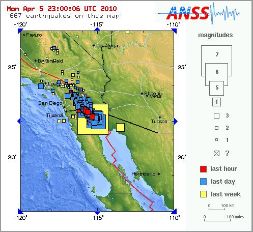 Aftershocks Continue to Shake Southern California