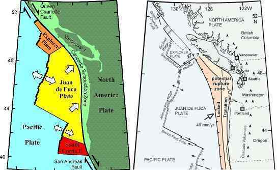Troubled Times San Andreas Slide - West coast fault lines